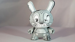 Custom vintage wind-up 3 inch dunny II by DFed