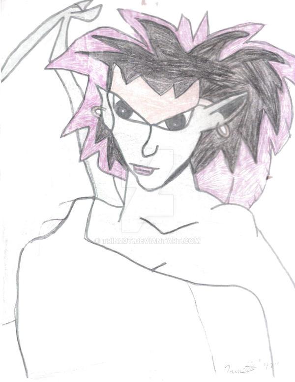 Gargoyles Demona by trin20t