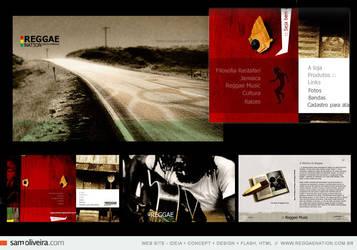 reggae nation - web site by samoliveira