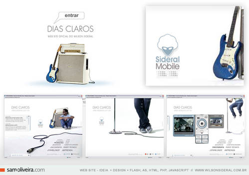 wilson sideral - web site