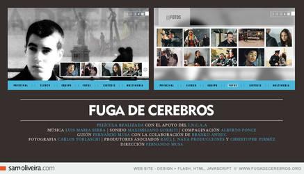 fuga de cerebros - web site by samoliveira