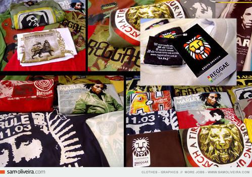 t-shirts - reggae nation