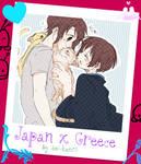 Hetalia Japan x Greece