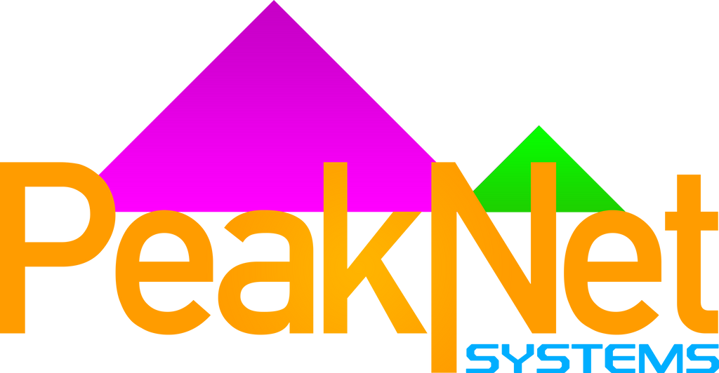 PeakNet Systems logo by x360live