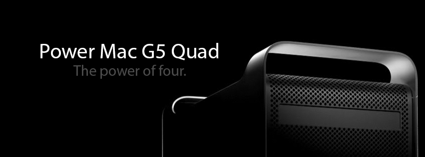 G5 Quad FB Banner - PowerPC Archive by x360live