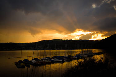 sunset by janbk