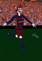 Visca Barca by GabeBold