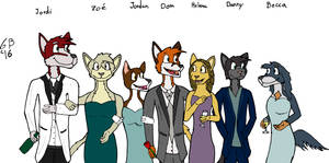 Meet The Cast by GabeBold