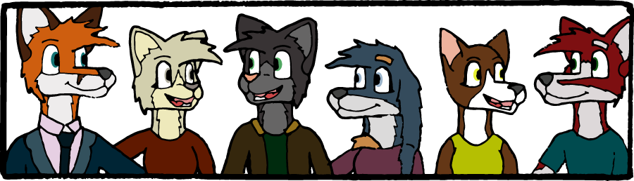 Friends You Are Stuck With (Banner) by GabeBold