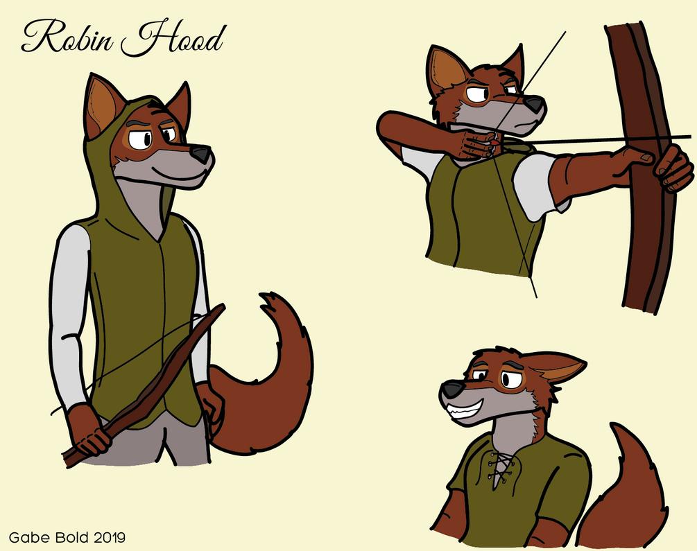 Robin Hood by GabeBold