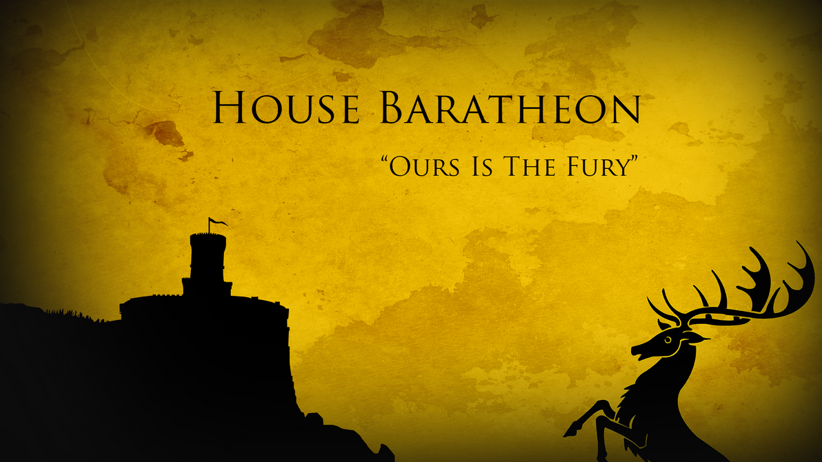 Game of thrones house baratheon shield