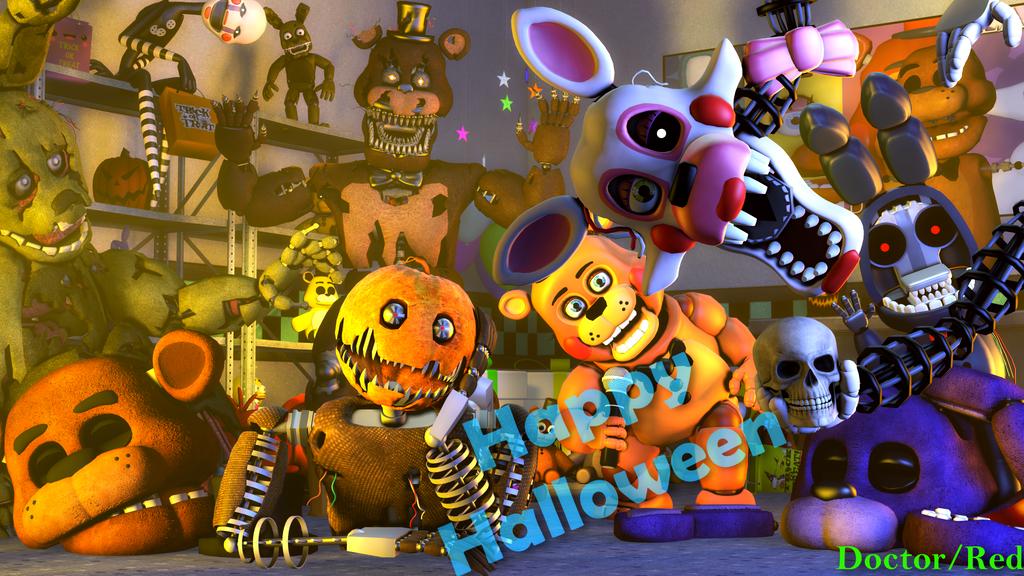 SFM FNAF] Happy Halloween by DoctorRed2000 on DeviantArt