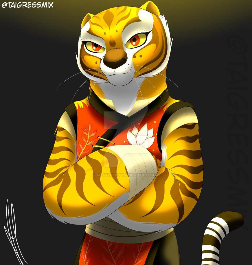 Master Tigress by darkkeferas.deviantart.com on