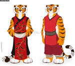 Tigress with her different outfits - 2/4