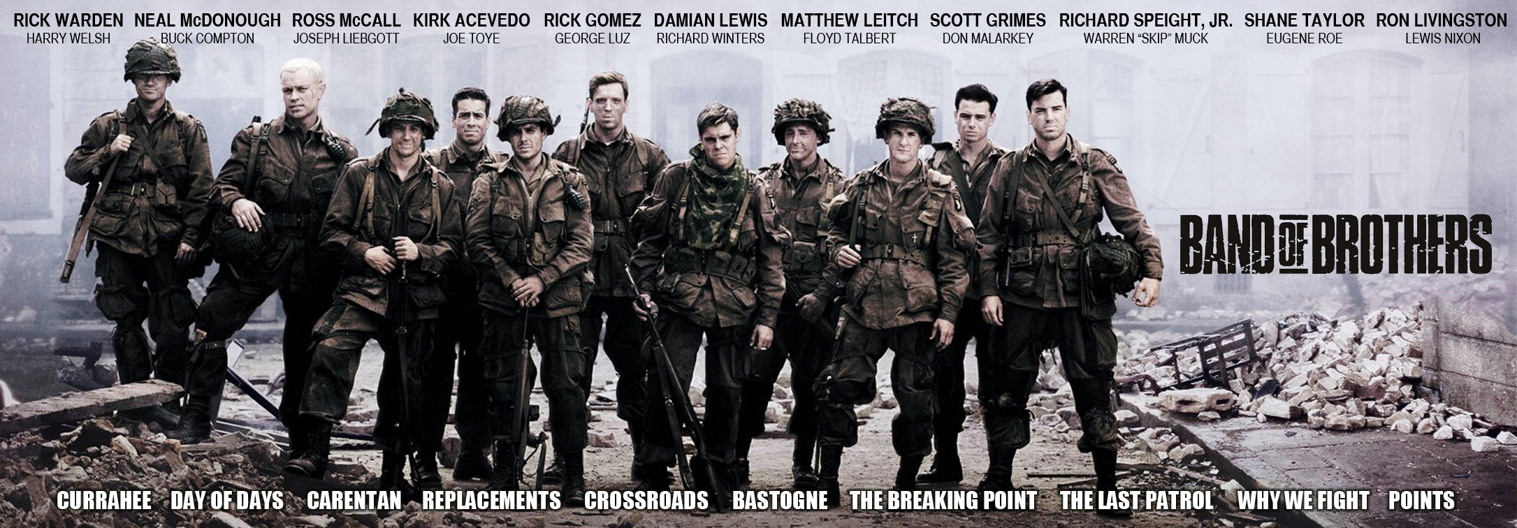 Band of brothers banner by social iconoclast on deviantart for The wallpaper company