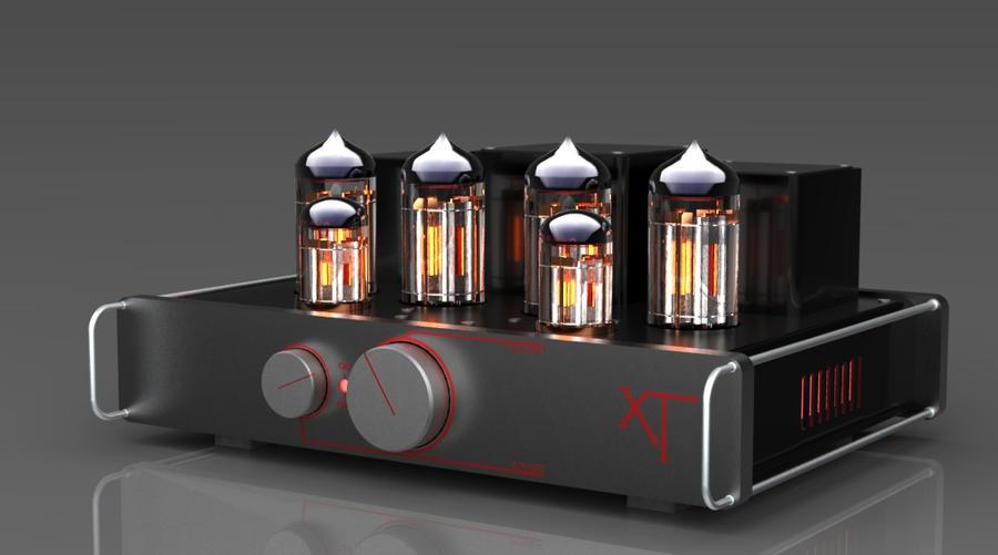 vacuum tube amplifier xT by zooluf on DeviantArt