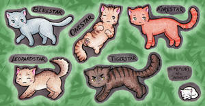 WarriorCats: Leaders by NatureLover625