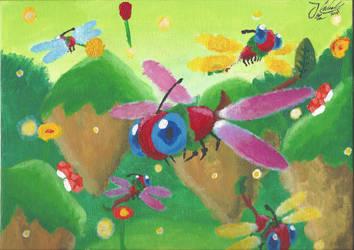 Naturia Dragonfly by Mewlver82