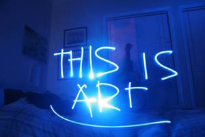 Light Graffiti is art by chimpanzagoo