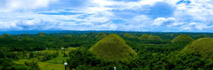 Chocolate Hills Panorama
