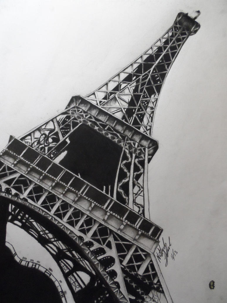 Realistic eiffel tower drawing by thenewsketch on deviantart realistic eiffel tower drawing by thenewsketch thecheapjerseys Choice Image