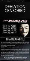 Black March by lluviosa