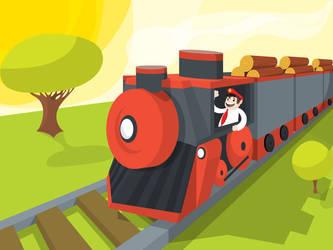 The train by pilzao