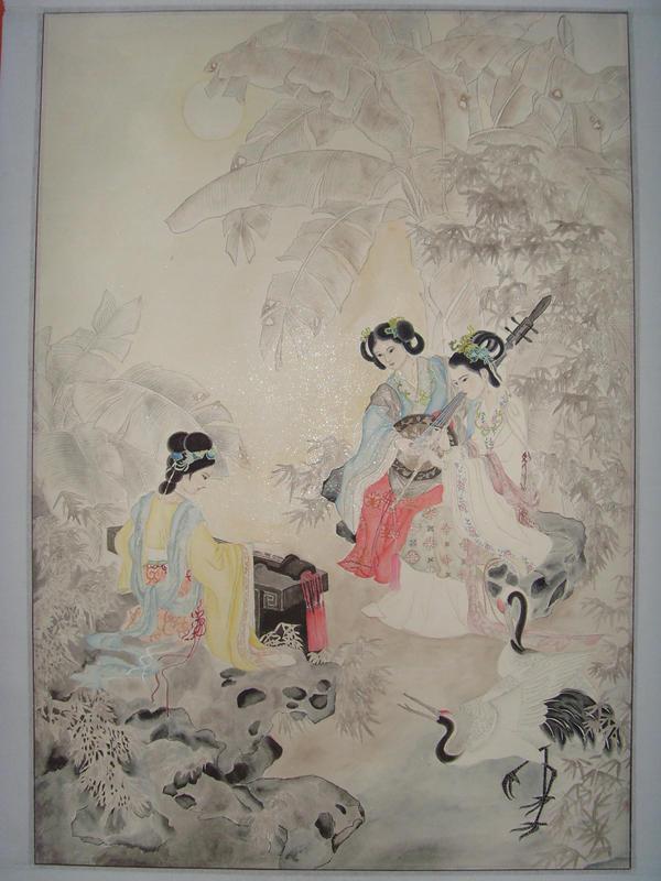 my Chinese painting