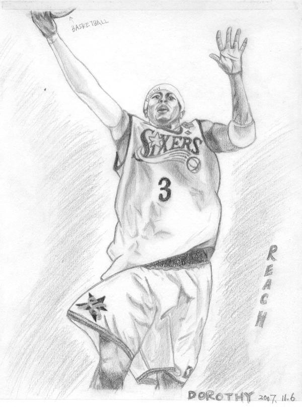 allen iverson coloring pages - photo#8