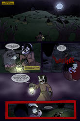 Scourge Eternal Blackout: Issue 1 pg 1