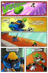 :Scourge Eternal Blackout: Issue 3 pg 4:. by 5courgesbestbuddy