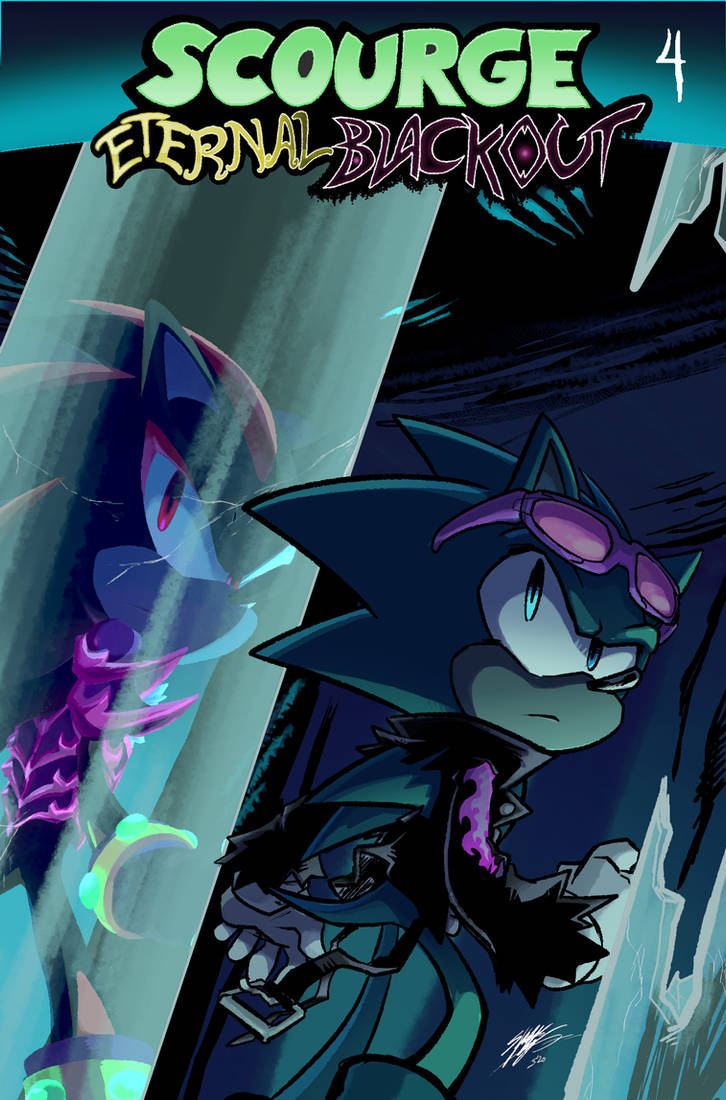 .:Scourge Eternal Blackout: Issue 4:.