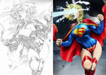 Supergirl by CaioMarcus Progression