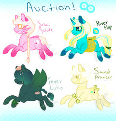 REDUCED 70 Points (Yellow OPEN) ~ Pony Adoptables
