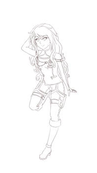 Christina - new outfit (wip)