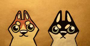 badass huskies by lil-moocher
