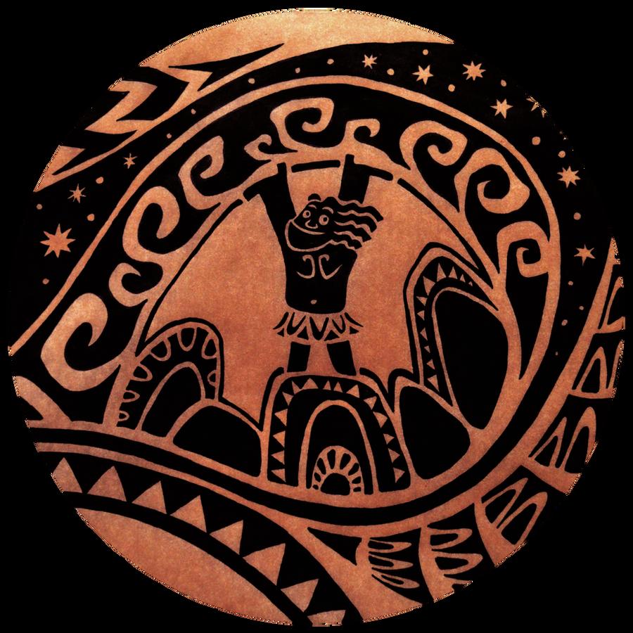 Maui tattoo by lil-moocher