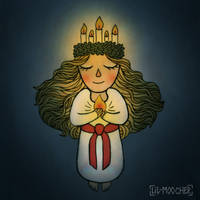 Saint Lucy by lil-moocher