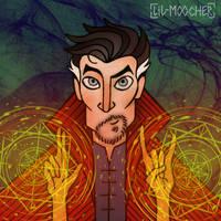 Doctor Strange by lil-moocher