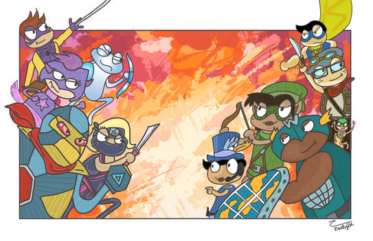 Poptropica: Mighty Action Force!