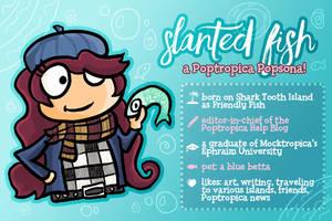 Popsona: Slanted Fish by SlantedFish