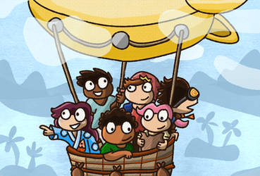 Poptropica: Aboard the Blimp