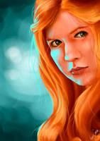 Amy Pond by IreneWeasly