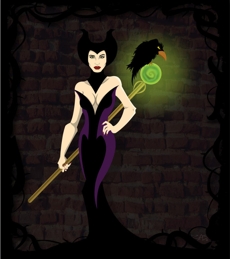 Maleficent Jolie Full Body By Rickytherockstar On Deviantart