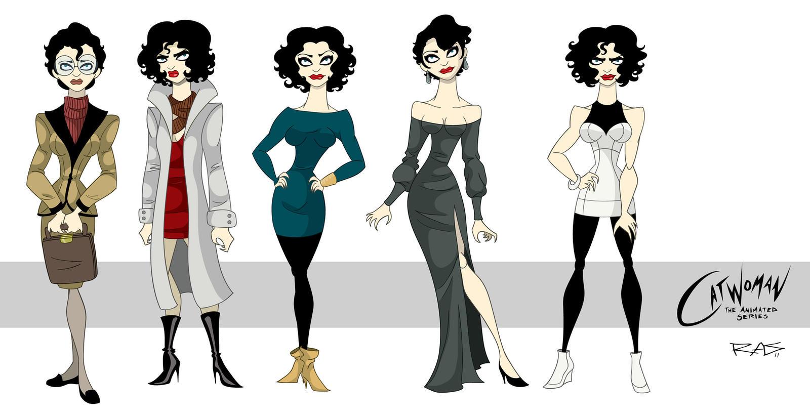 Batman the Animated Series Catwoman Selina KyleBatman The Animated Series Selina Kyle