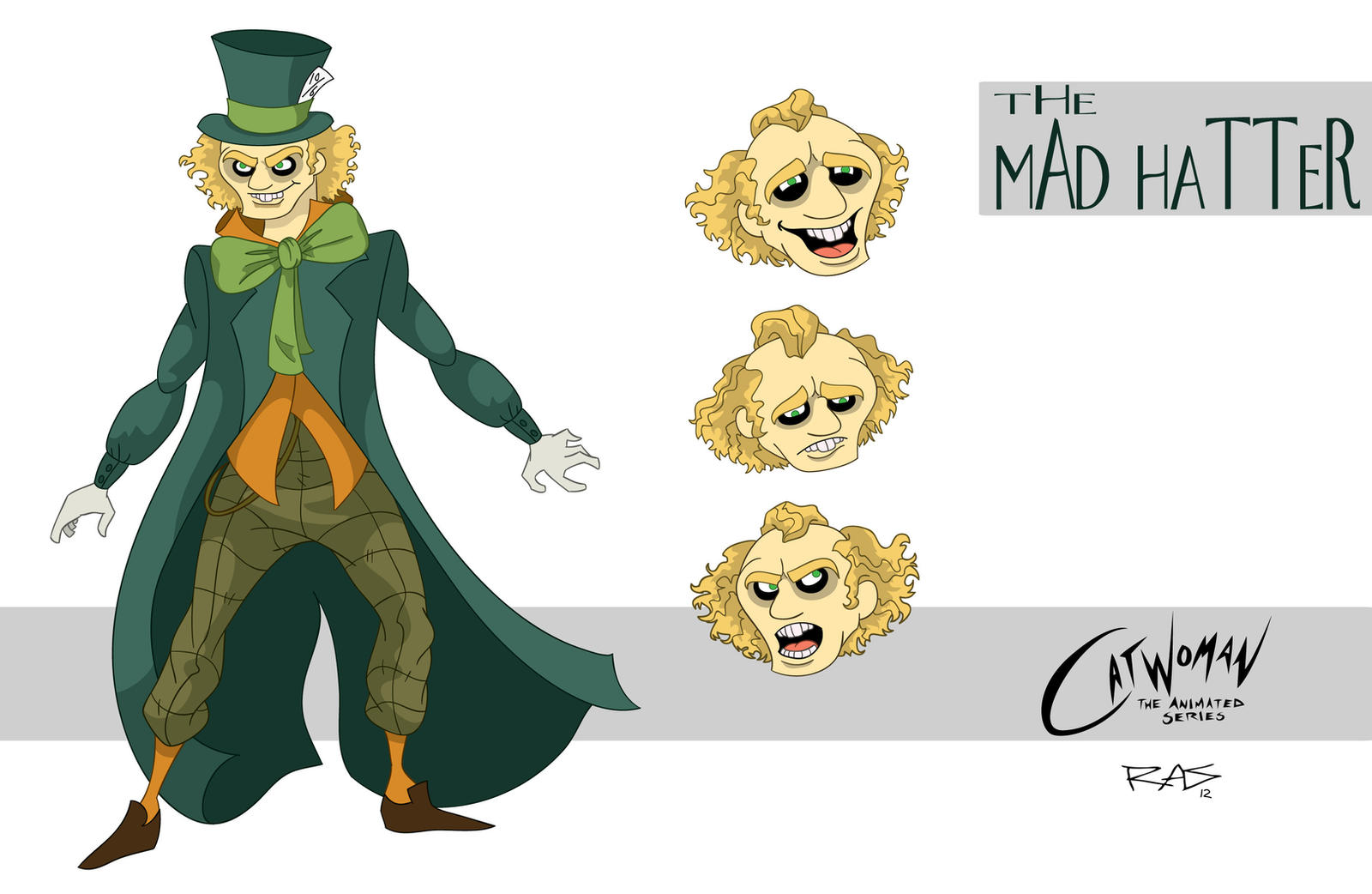 Mad Hatter In Batman The Animated Series