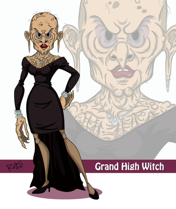 #13 The Grand High Witch by rickytherockstar on DeviantArt