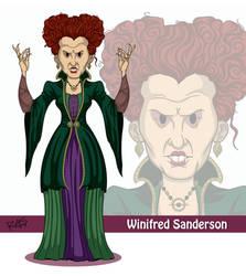 #3 Winifred Sanderson