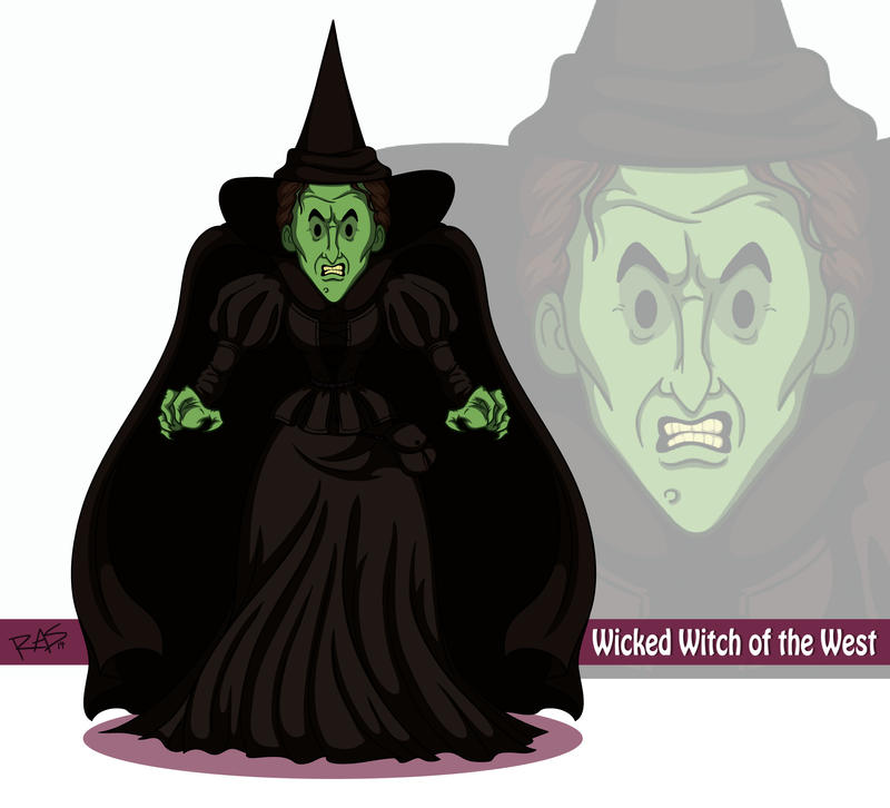 #1 Wicked Witch of the West by - 65.4KB