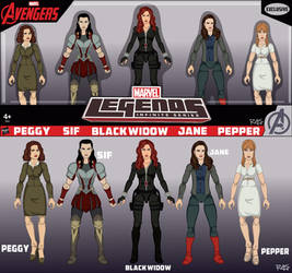 Women of the MCU Box Set